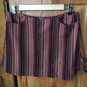 🍓LAST CHANCE ❗️Retro mixed berry velour miniskirt